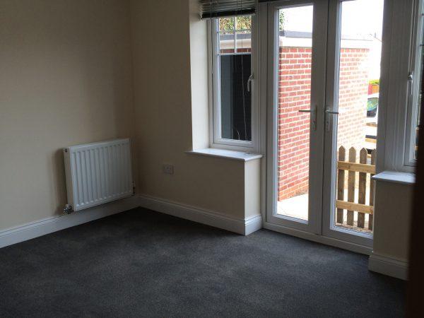 DWP Housing, new build home lounge